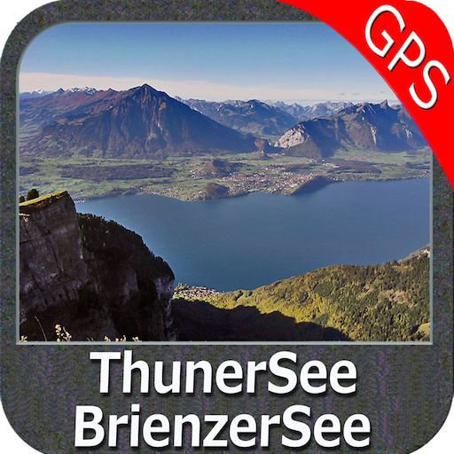 Lake Thun - Brienz GPS Map (Lowrance-fishing-maps)