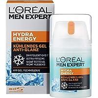 L'Oréal Men Expert Hydra Energy Anti-Glanz, nicht-fettende Feuchtigkeitspflege mit Matteffekt und kühlender Wirkung ist die perfekte Gesichtscreme für müde Männerhaut