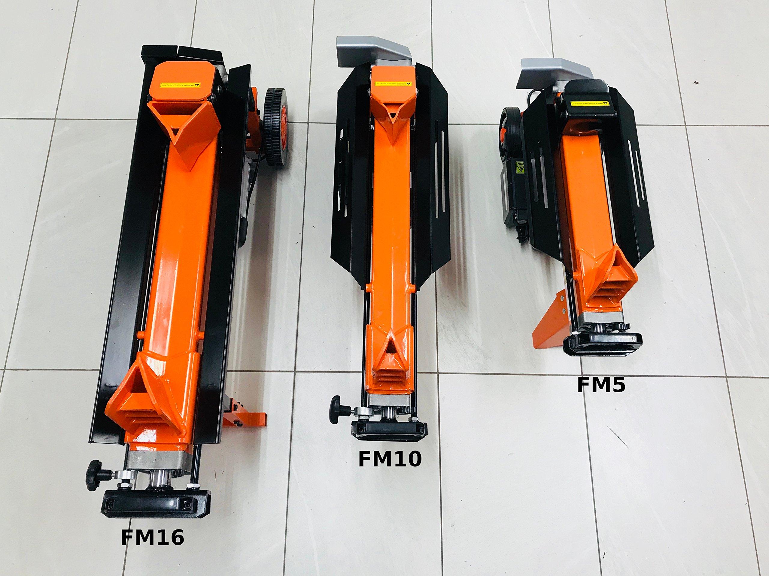 Rápido Ligero 5tonelada 2200W de eléctrico hidráulico separador de Klotz de 300mm/12pulgadas Klotz de longitud