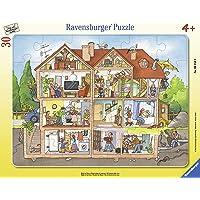 Ravensburger Puzzle pour Enfant 06154 - Motif : Vue dans la Maison