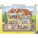 Ravensburger- Vue dans la Maison, 06154, Argent (Silver)
