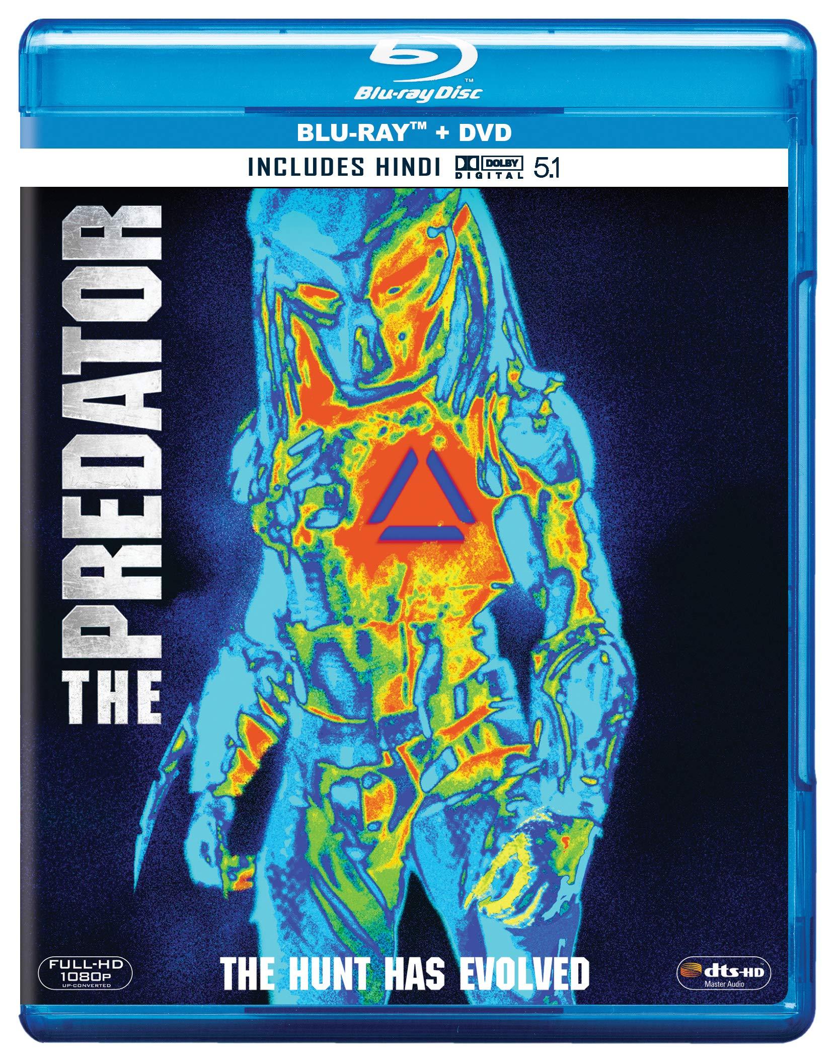 The Predator (2018) (Blu-ray + DVD) | Movies, Movies and TV