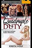 Quadruple Duty - A Military Reverse Harem Romance (English Edition)