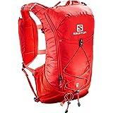 SALOMON Agile12 Set, Zaino da Corsa/Escursionismo Pratico e Leggero, capacità di 12 l, Sacca d'Acqua Inclusa Unisex Adulto