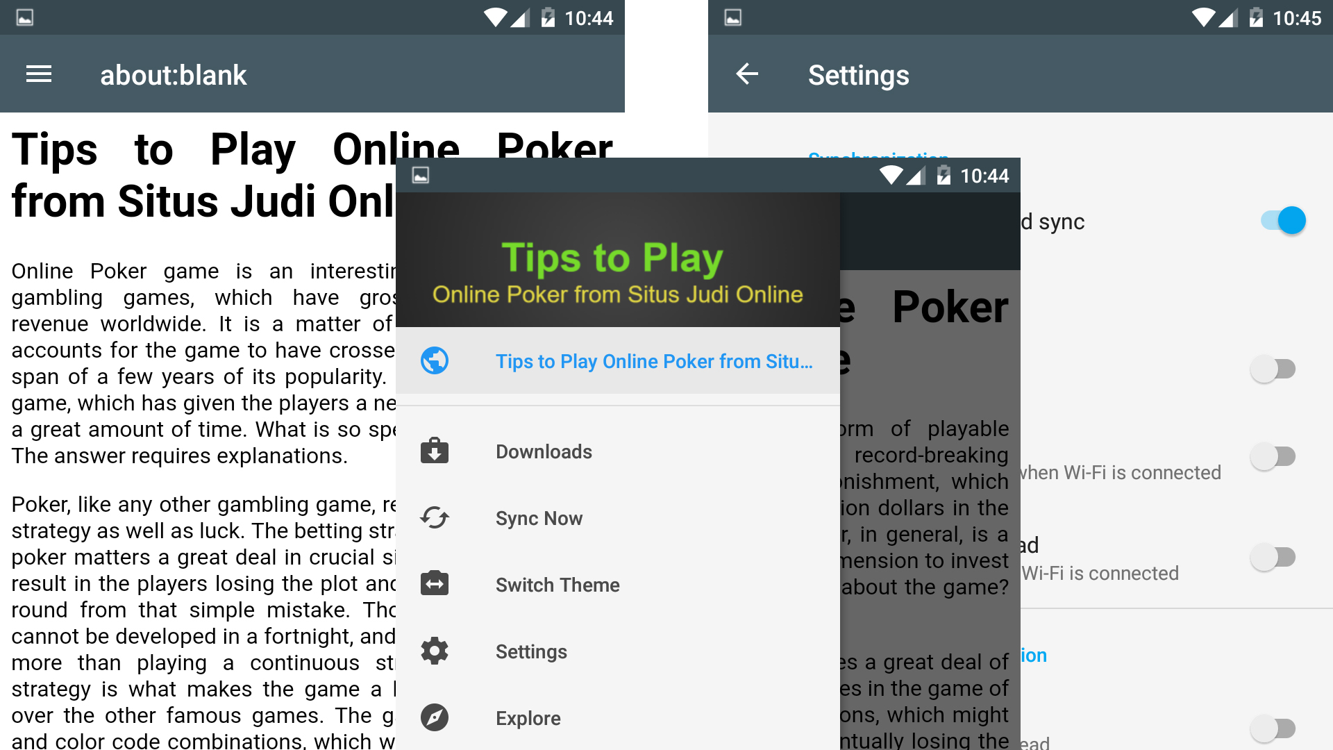 Tips To Play Online Poker From Situs Judi Online Amazon In Appstore For Android