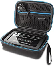 Supremery Tasche für Tomtom Go Basic Pkw-Navi Navigationsgerät Hülle Case (Geeignet für 6,0 Zoll Gerät - Kompatibel mit:GO 610 620 6200, Start 60 62, Via 62, GO 60 61, GO 600/GO 6000/TRUCKER 6000)