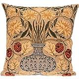 Morris Gobelin Cushion Tulip Belgian Tapestries Zierkissenhülle 45 X 45 nach W