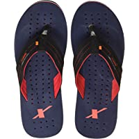 Sparx Men's Black and Navy Flip-Flops and House Slipper
