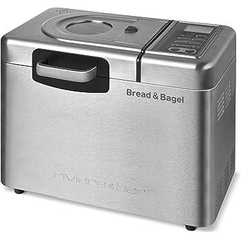 Riviera & Bar QD794A Bread & Bagel Machine à Pain Inox