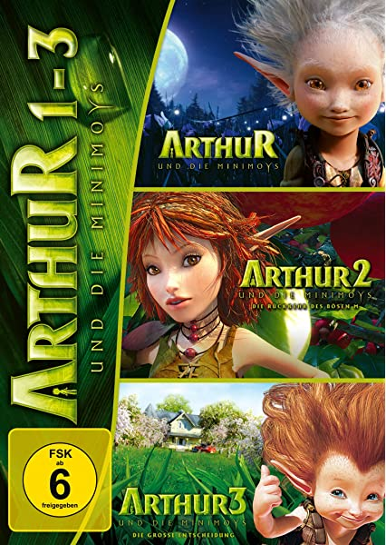Arthur And The Invisibles Revenge Of Maltazard Arthur And The War Of Two Worlds Non Uk Format Region 4 Import Australia Amazon Co Uk Dvd Blu Ray