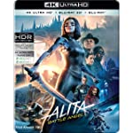 Alita: Battle Angel (Steelbook) (4K UHD + Blu-ray 3D + Blu-ray) (3-Disc)