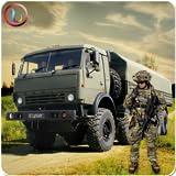 Armée Cargaison Livraison un camion
