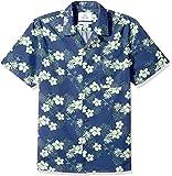 Marchio Amazon - 28 Palms Standard-Fit 100% Cotton Tropical Hawaiian Shirt Uomo