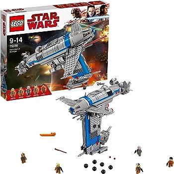 Lego Star Wars - Bombardiere della Resistenza, Multicolore, 75188