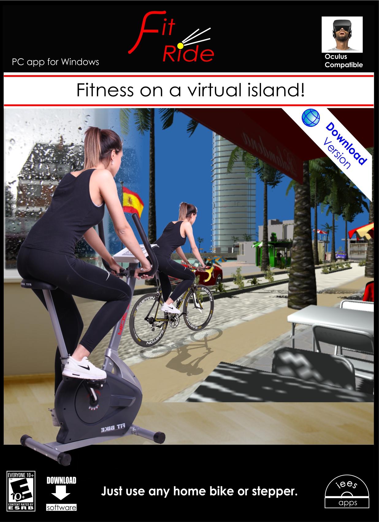 fitne fahrrad Verwandle deinen Heimtrainer oder Stepper in Spaß mit dieser App! [PC Download]