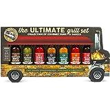 Modern Gourmet Foods - Ultimate Grill Geschenkset - Food Truck Probierset Mit 7 Leckeren Grillsaucen & Trocken-Marinaden