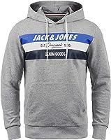 JACK & JONES Originals Sacho Herren Kapuzenpullover Hoodie Pullover Mit Kapuze Und Print