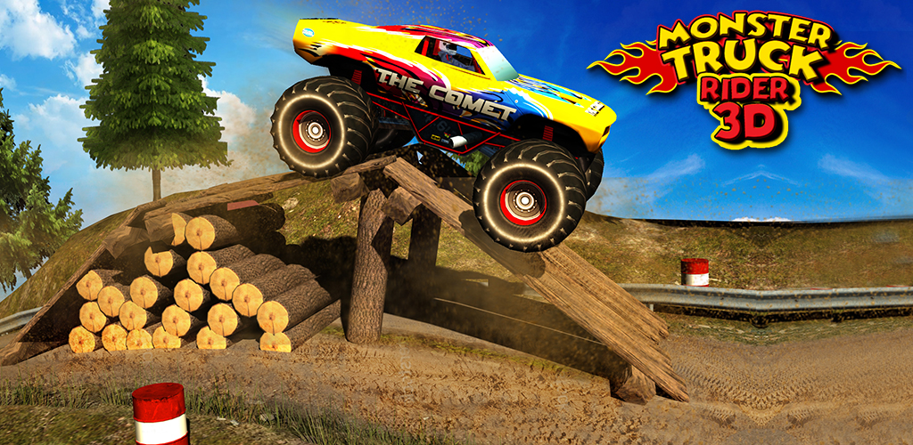monster truck rider 3d appstore pour android. Black Bedroom Furniture Sets. Home Design Ideas