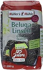 Müller´s Mühle Beluga Linsen, 7er Pack (7 x 500 g)