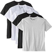 Fruit of the Loom Men's Super Premium Short Sleeve T-Shirt Pack of 5