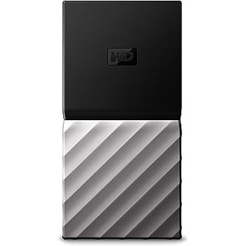 WD My Passport SSD - Almacenamiento portátil de 256 GB, Color Negro