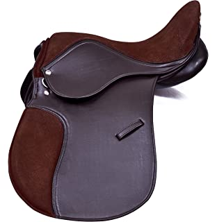 Super-Comfy Deeper seat GP Saddle Synthetic Changeable Gullet 17 /…
