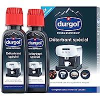 durgol swiss espresso – Détartrant spécial anti-calcaire pour tous types de machines à café – Enlève le calcaire…