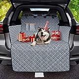 OMORC Protezione Bagagliaio Auto, 100% Impermeabile e Antiscivolo Telo Auto per Cani Protezione Bagagliaio Auto per Cani Cope