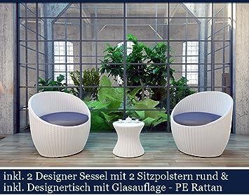 amazon.de: polyrattan gartenmöbel set poly rattan garten möbel ... - Sitzgruppe Im Garten Gartenmobel Sets