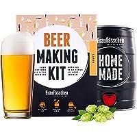 BrewBarrel Kit de Brassage Bière Blonde - Fabrication de la Bière Faites Votre Bière en FUT 5L - Cadeau Homme…