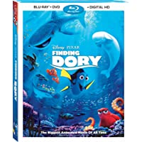 Finding Dory - 3 Disc Edition (Uncut) [Blu-ray + DVD + Digital HD] (2016)   Includes Slipcover   Imported from USA…