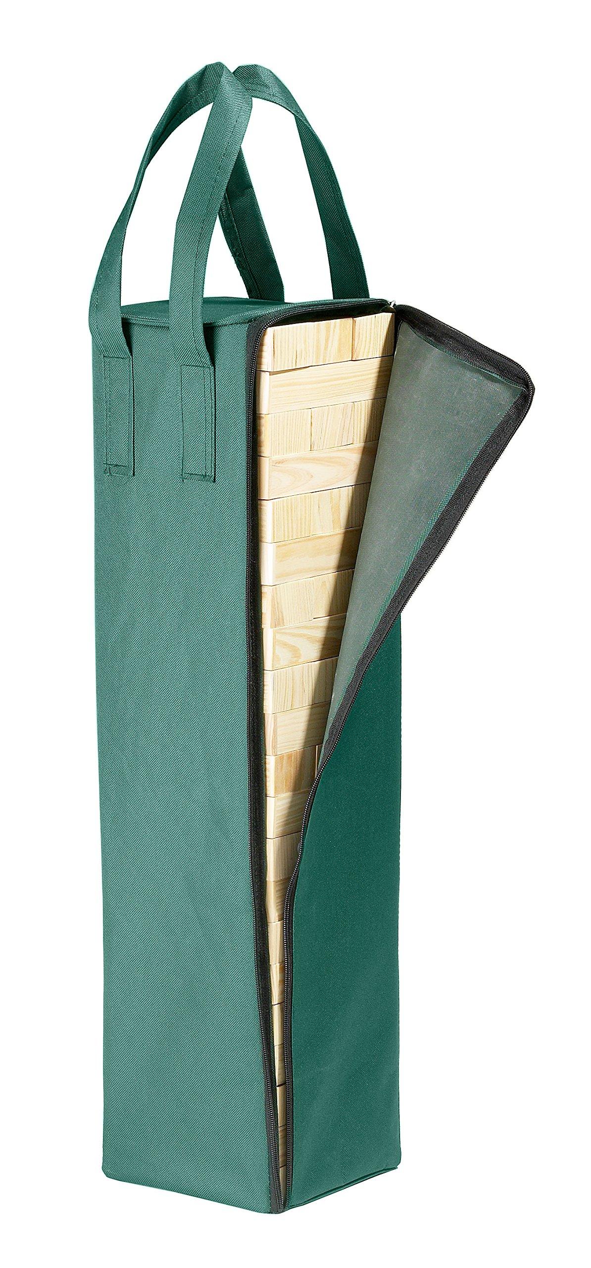 Philos-3310-Party-Wackelturm-60-cm-hoch-mit-60-Spielsteinen-und-Tragetasche