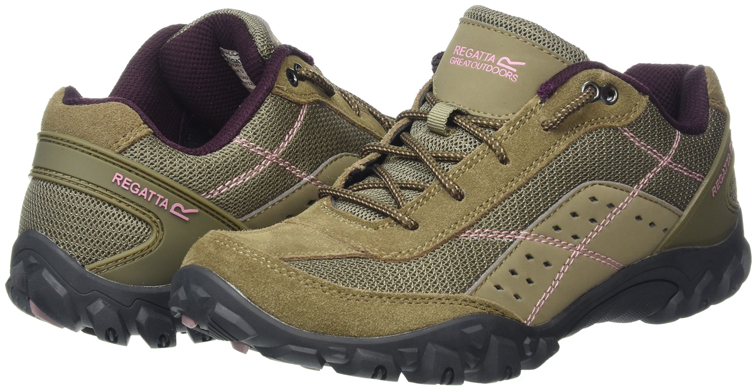 Regatta Lady Stonegate, Women's Low Rise Hiking Boots 5