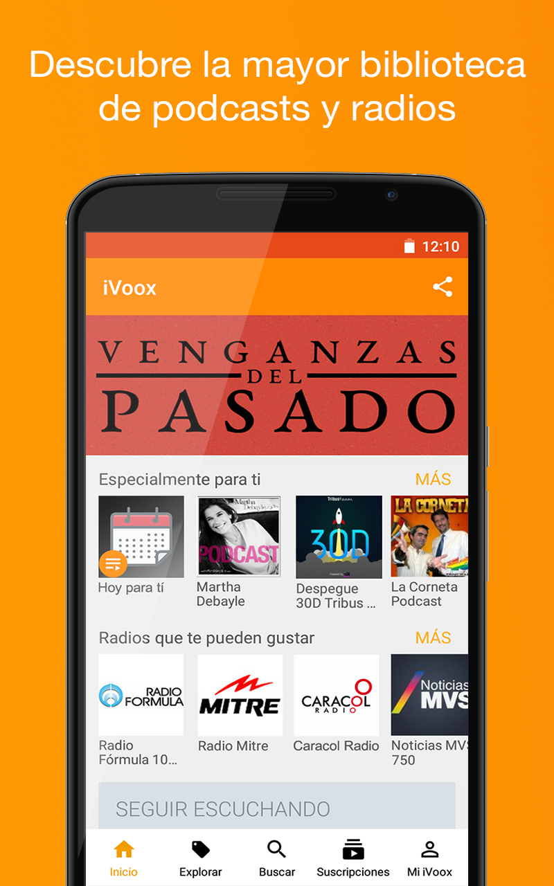 Podcast & Radio iVoox: Amazon.it: Appstore per Android