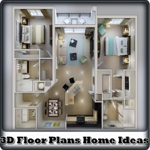 Floor 3D Plans Home Ideas