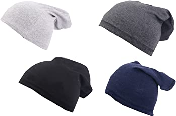Krystle Beanie Unisex Combo Of 4 Cap For All The Seasons caps/beanie/slouch/skullcap/fitcap PACK OF FOUR