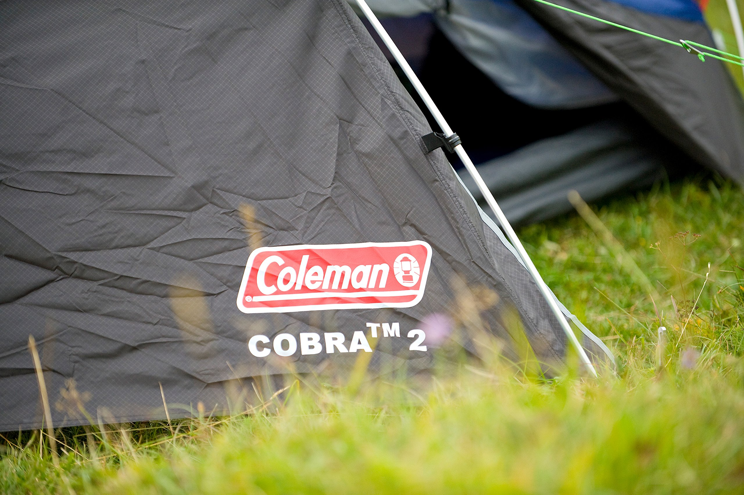 Coleman Cobra 2 Tent for Trekking Tours, Camping or Festivals, Small Pack Size, Fits in a Backpack, Waterproof HH 3.000… 10