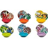 Excelsa 62486 Kimono Service d'assiettes 18 pièces, Multicolore