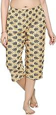 PDPM Women's Cotton Capris/Night Capri/Night Lower/Loungewear / Nightwear