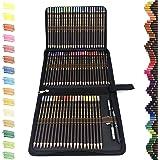 72 Lapices de Colores Profesionales,lapiz para colorear de Dibujo y Bosquejo Material de dibujo Set,Incluye Caja de Cremaller