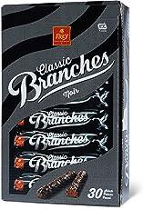 Frey Branches Noir, Riegel aus edler Zartbitterschokolade garniert mit Nusssplittern, 810 g
