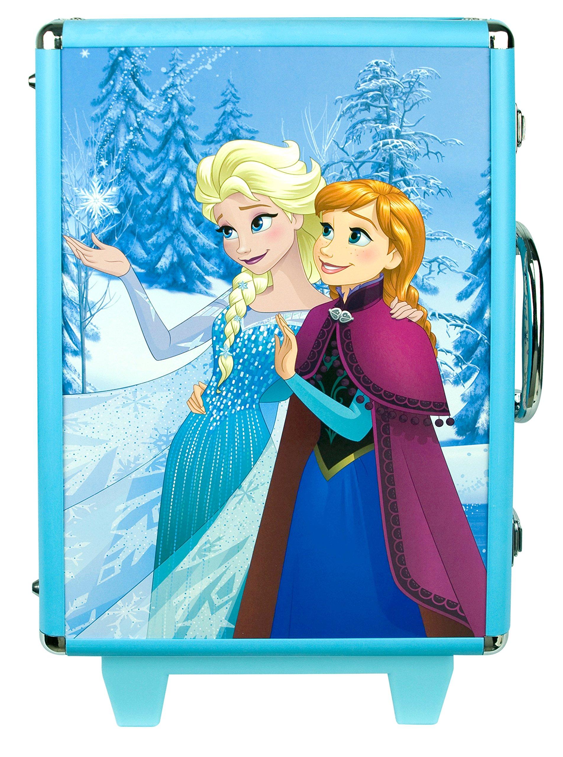 91g76tabeOL - Disney Frozen - Icy Adventures Beauty Trolley, pack de maquillaje (Markwins 9607310)