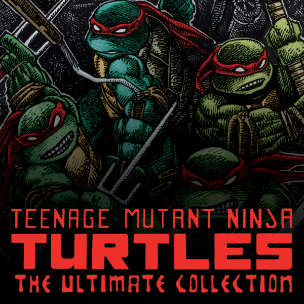 (Teenage Mutant Ninja Turtles: The Ultimate B&W Collection (Collections) (6 Book Series))