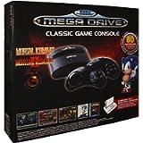 Console Sega Megadrive Classic sans-fil + 80 Jeux + Port Cartouche - édition Mortal Kombat - [Edizione: Francia]