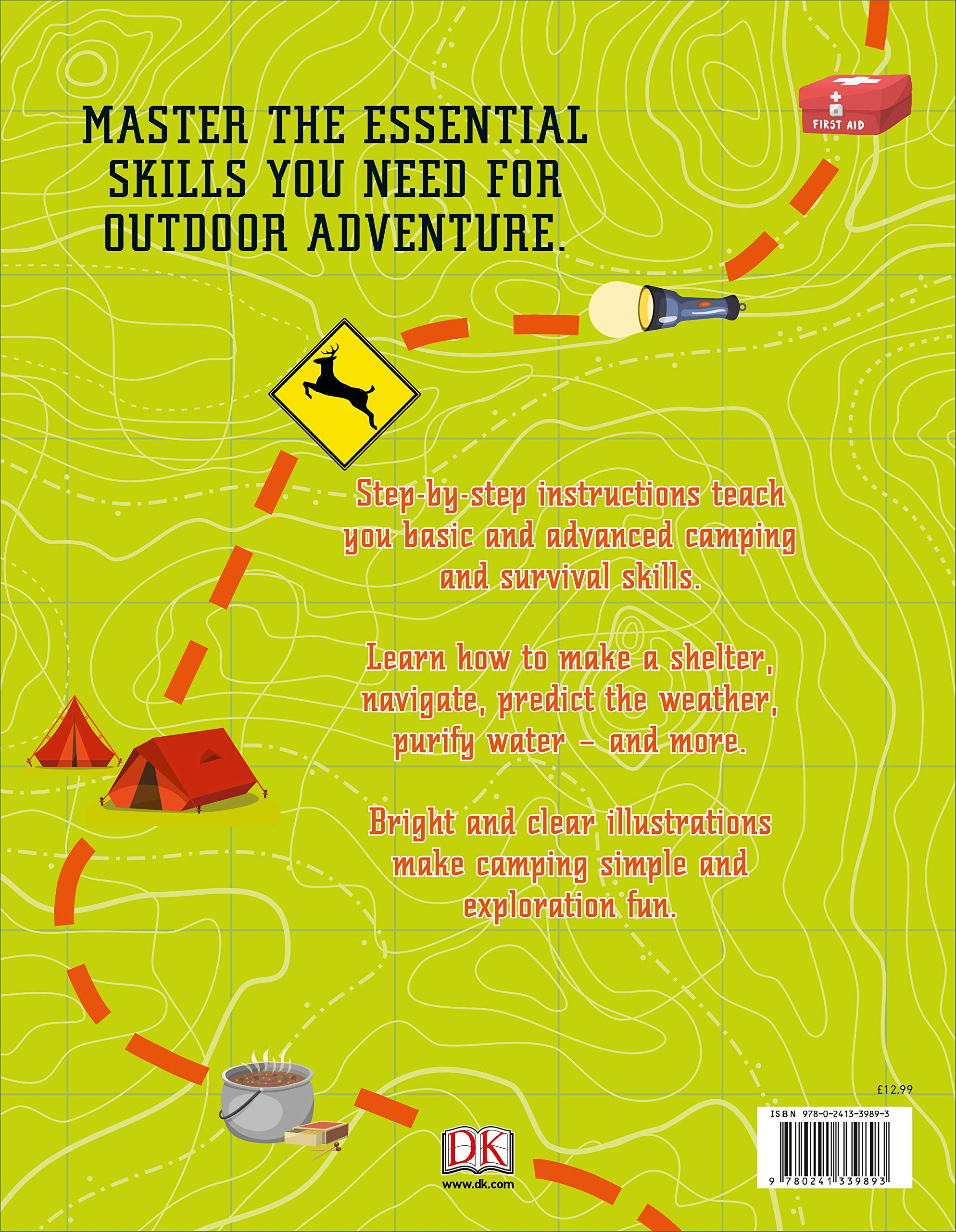 Survival for Beginners: A step-by-step guide to camping and outdoor skills