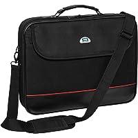 Pedea Laptoptasche Trendline Notebook-Tasche bis 15,6 Zoll (39,6 cm) Umhängetasche mit Schultergurt, Schwarz
