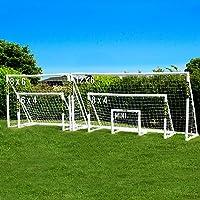 FORZA Ersatzteile für Fussballtore | Wetterfestes PVC | Eck- und Verbindungstücke & Streben