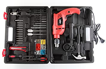 Skil 6513 550 watts 13 mm Impact Drill Set (138 Pieces)