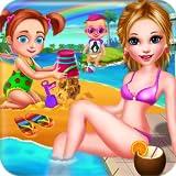 Verano playa Vacaciones en familia - Divertido juego entretenido para los niños y los padres a jugar!