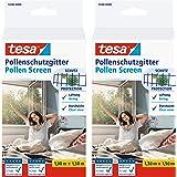 tesa Pollenbeschermingsrooster 55286 voor ramen - op maat te snijden, herbruikbaar insectenbeschermingsrooster voor mensen me